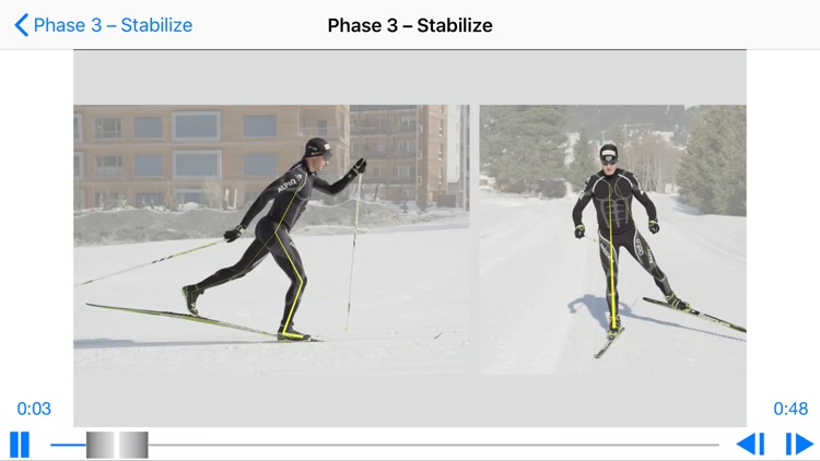 Cross-country skiing technique screenshot-3