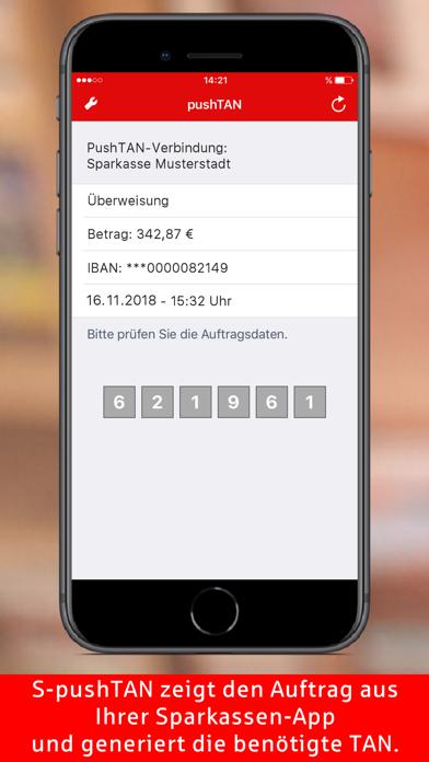 Herunterladen S-pushTAN für Android