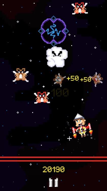 Jetpack Jack: Space Invasion screenshot-0
