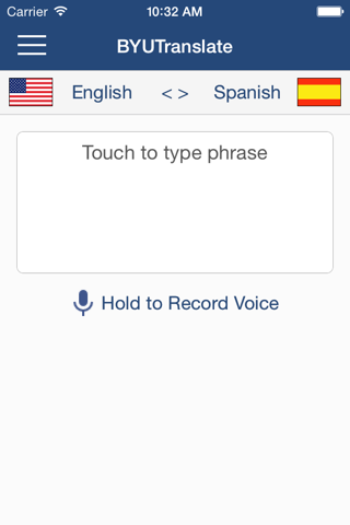 BYUTranslate - náhled