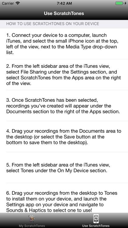 ScratchTones screenshot-9