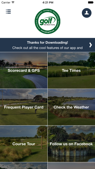 Palm Beach County Golf screenshot 2