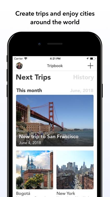 Tripbook - Travel Planner