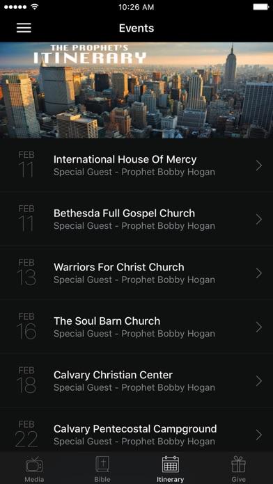 Bobby Hogan World Evangelism screenshot 3