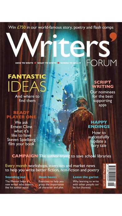 Writers' Forum Magazine screenshot1