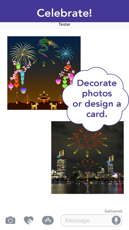 Lights & Fireworks: On Photos! screenshot-0