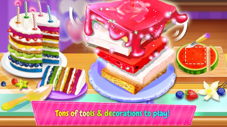 Birthday Cake Design Party screenshot-3