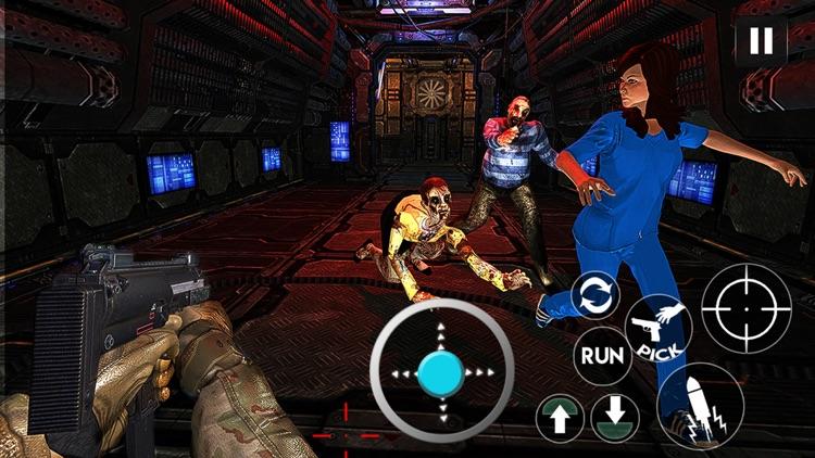 Zombies FPS Shooting Game 2018 screenshot-3