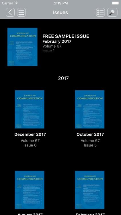 Journal of Communication screenshot-3