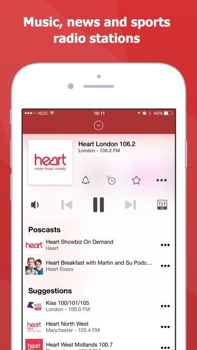 Screenshot for myTuner Radio Pro in Jordan App Store