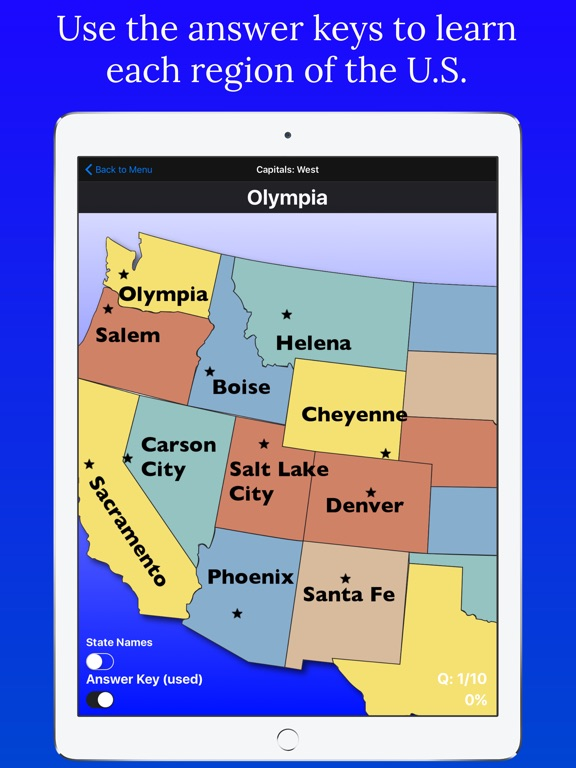 United States Map Quiz | App Price Drops