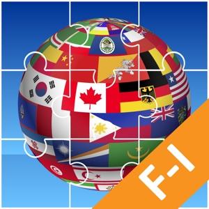 Jigsaw Puzzle National Flag FI