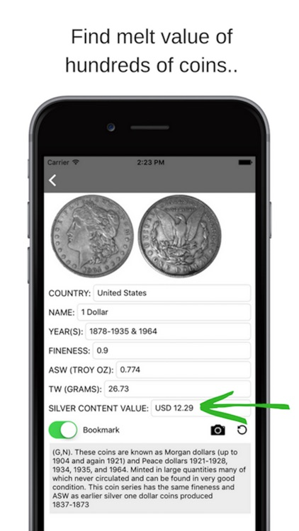 Silver Coin Valuer PRO screenshot-0