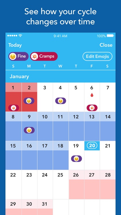 Spot On Period Tracker