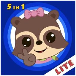 Candy Raccoon: Balloon Games Lite