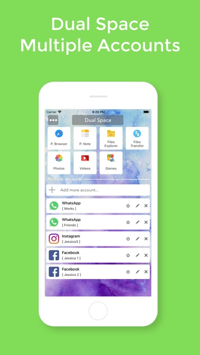 download Dual Space - Multiple Account apps 1
