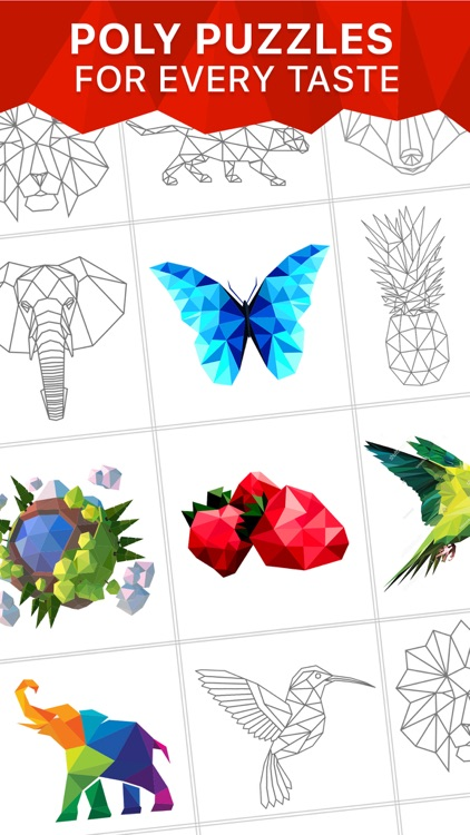 MOSAIC Now - Low Poly Puzzles screenshot-0