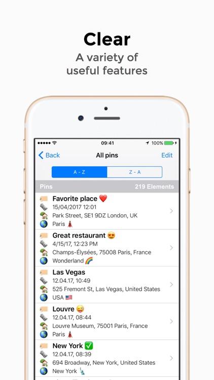 Pin365 Pro - Your travel map screenshot-3