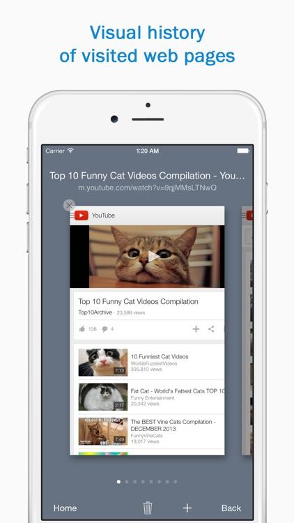 Smart Search & Web Browser screenshot-3