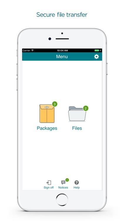 MOVEit Transfer Mobile