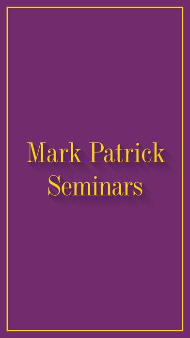 Mark Patrick Seminars App screenshot one