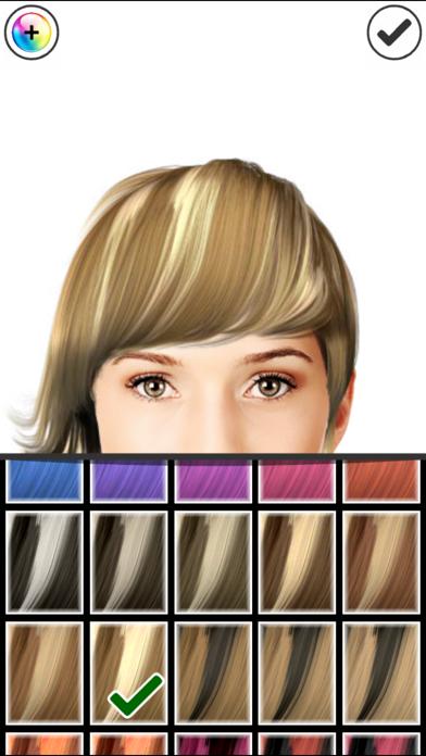 Hairstyle Magic Mirror Change your look screenshot