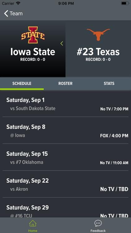 Texas Football 2018 screenshot-6