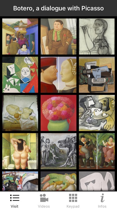 Botero:a dialogue with Picasso screenshot 1