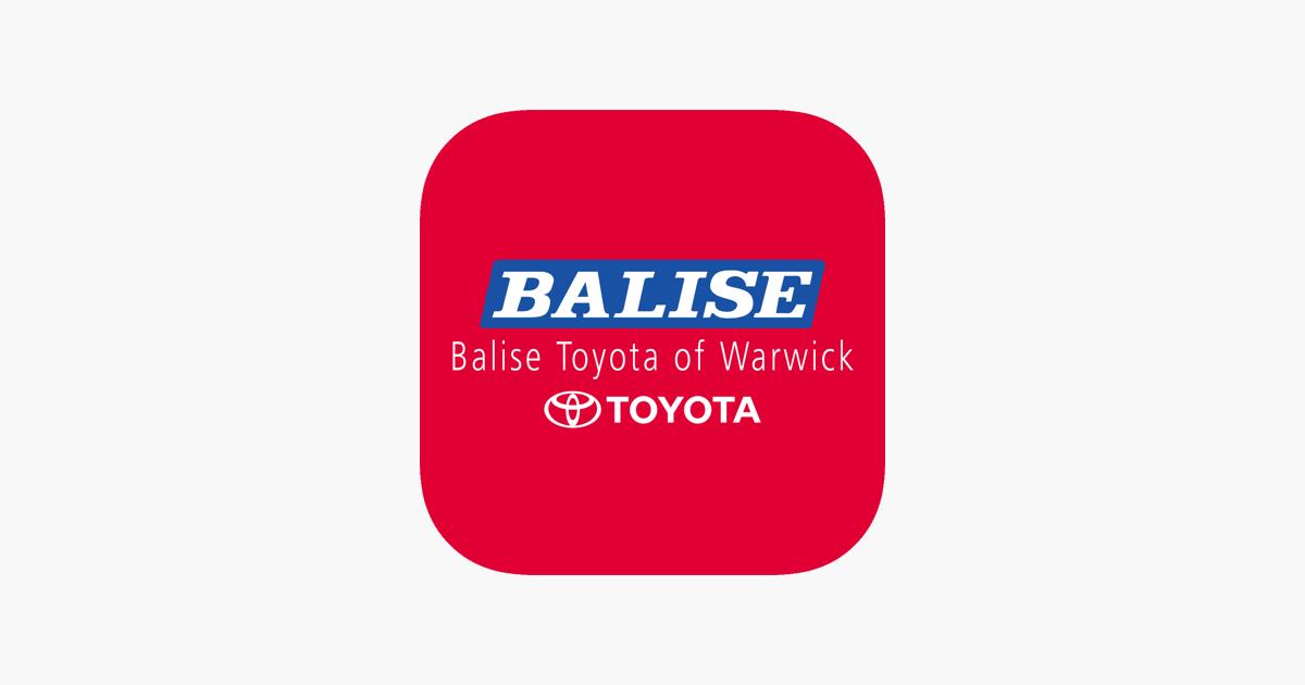 Superior  Balise Toyota Warwick Na App Store