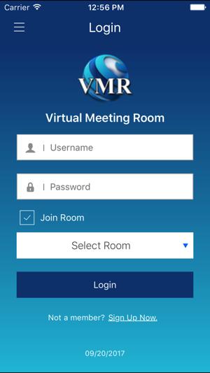 Virtual Meeting Room (VMR) on the App Store