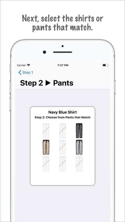 Clothes Matcher Pro screenshot-3