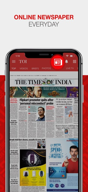 The Times of India on the App Store