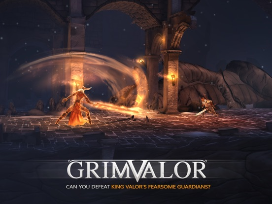 Grimvalor на iPad