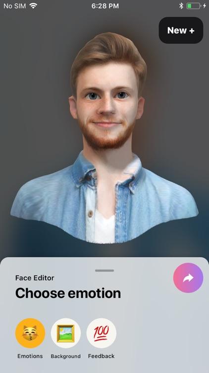 FaceHero - live 3D avatar screenshot-5