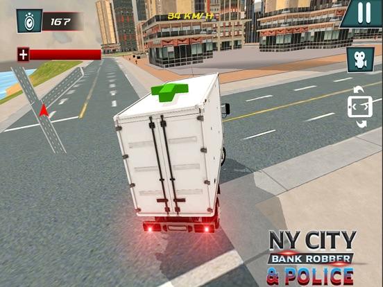 NY City Bank Robber & Police-ipad-1
