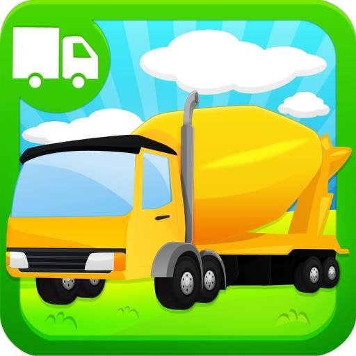 Trucks and Diggers Puzzles Games For Boys Lite