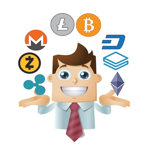 Crypto Man Stickers