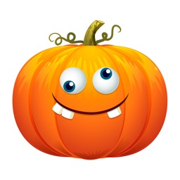 Funny Pumpkin - Animated Emoji