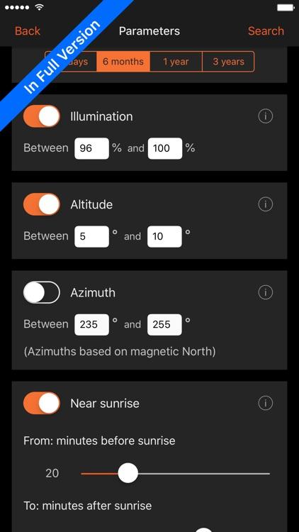 Sun Surveyor Lite screenshot-6
