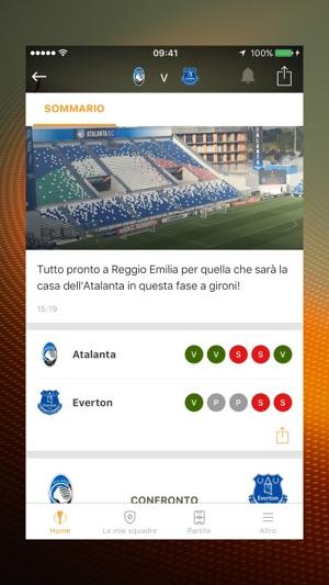 UEFA Europa League Screenshot