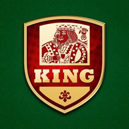 King - Classic card game : solo and multiplayer