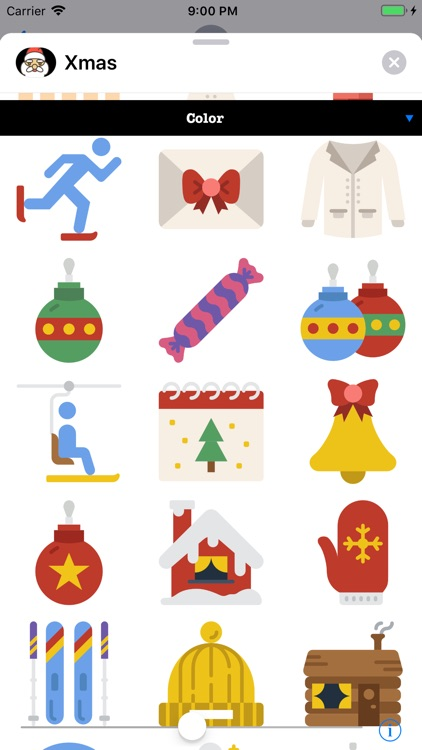 Xmas Stickers 4 Christmas screenshot-3