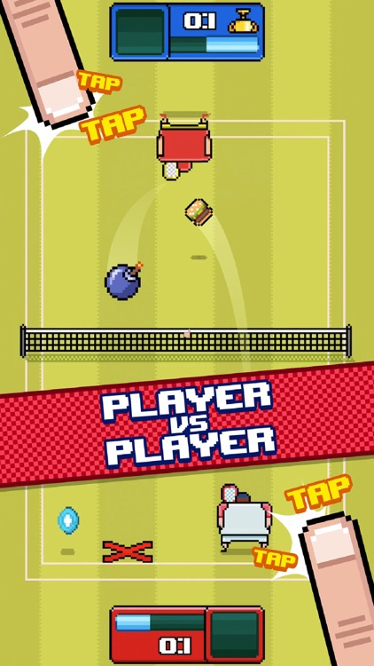 Timber Tennis screenshot-1