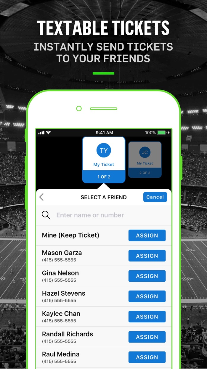 Gametime · Last Minute Tickets Screenshot