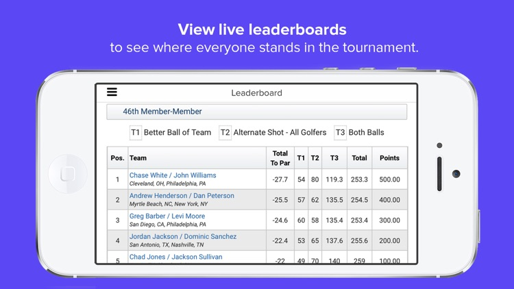 USGA Tournament Management screenshot-3