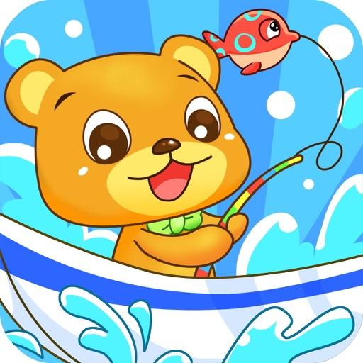 熊宝宝爱钓鱼