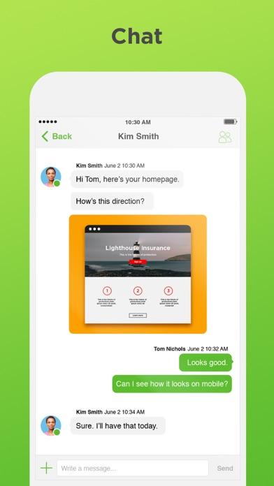 Screenshot 0 for Upwork's iPhone app'