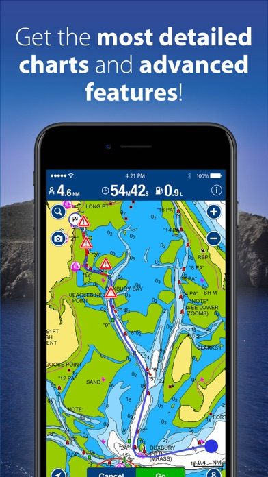 Screenshot for Boating Australia&NZ in New Zealand App Store