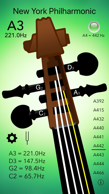 Cello Tuner Professional screenshot-4