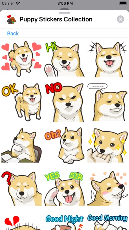 Puppy Stickers Collection screenshot-5